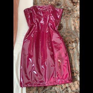 Fashion Nova Latex Dress